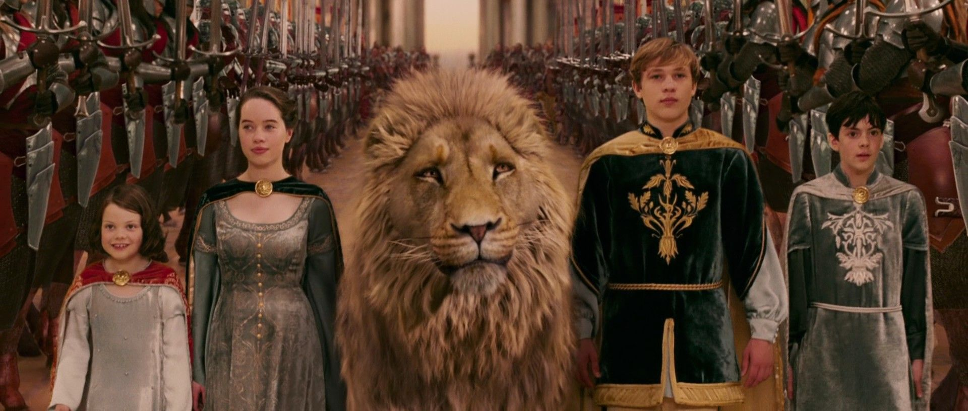 Chronicles Of Narnia - Aslan the beloved Lion that Narnia holds in ...