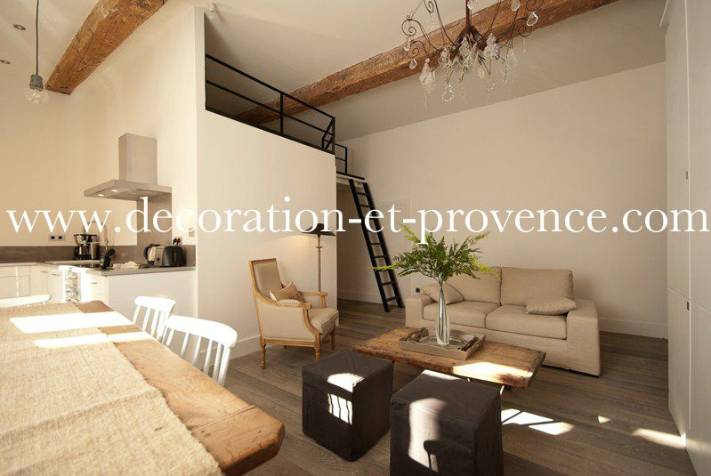 D coration d 39 int rieur s jour contemporain dans un for Deco interieur contemporain