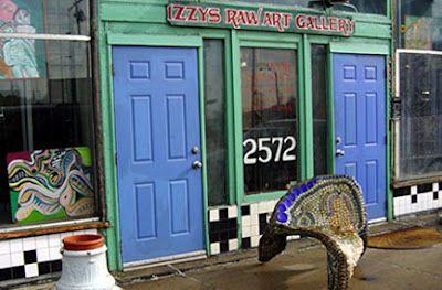 Izzy's Raw Art Gallery - Detroit, Michigan