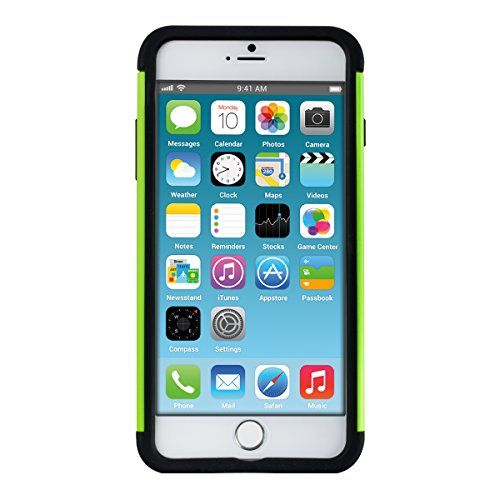 Telefono Custodia Rigida Apple iPhone 6 Plus / 6s Plus Nero