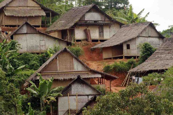 Rumah Adat Di Indonesia Rumah Adat Banten Baduy Adventure Of