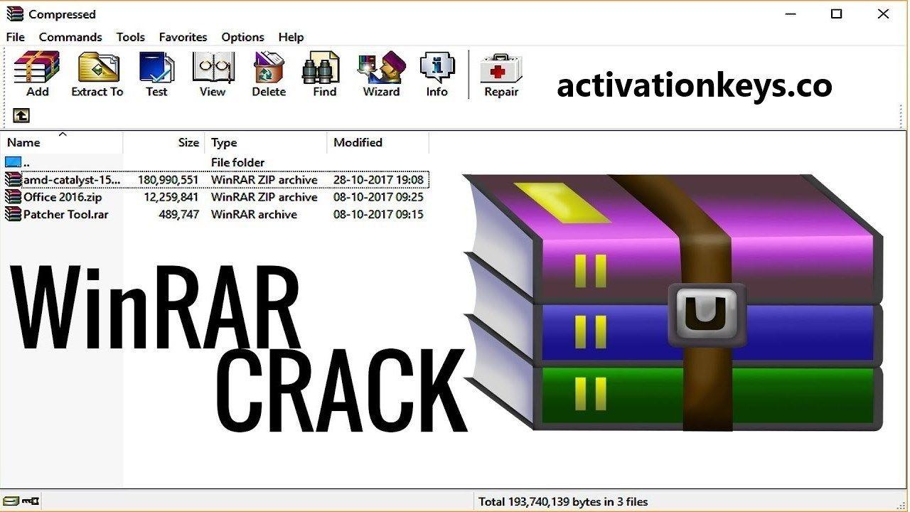 WinRAR 5 71 Crack + Keygen With Activation Key 2019 {Latest