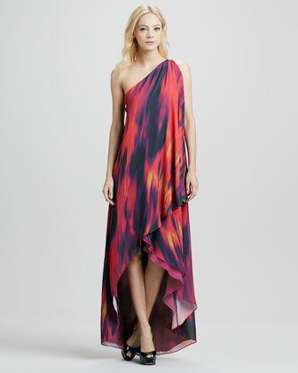 40e2661e84e Chromatic One-Shoulder Draped Gown (Stylist Pick!) at CUSP.