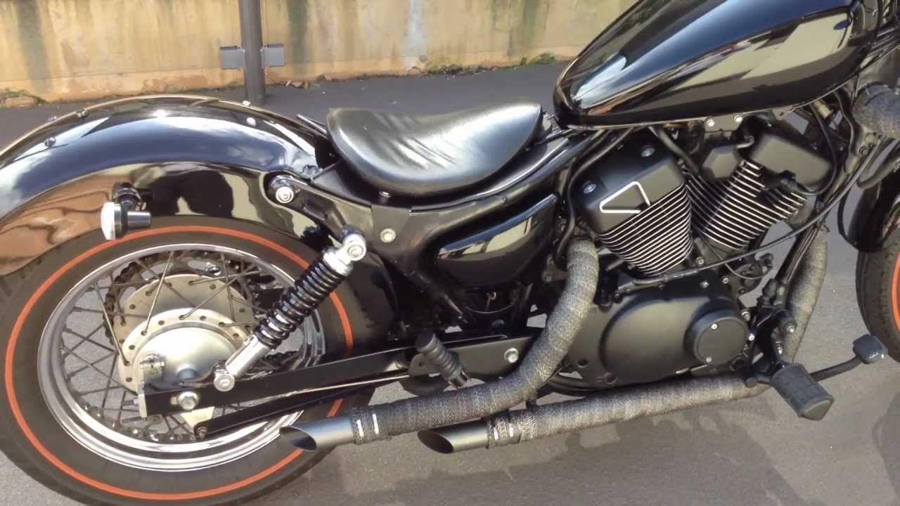 Custom Yamaha Virago 250 Exhaust Motocykle Yamaha