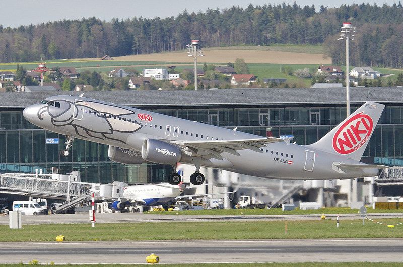 Niki Airbus A320-214; OE-LEG@ZRH;10.04.2014/750bu