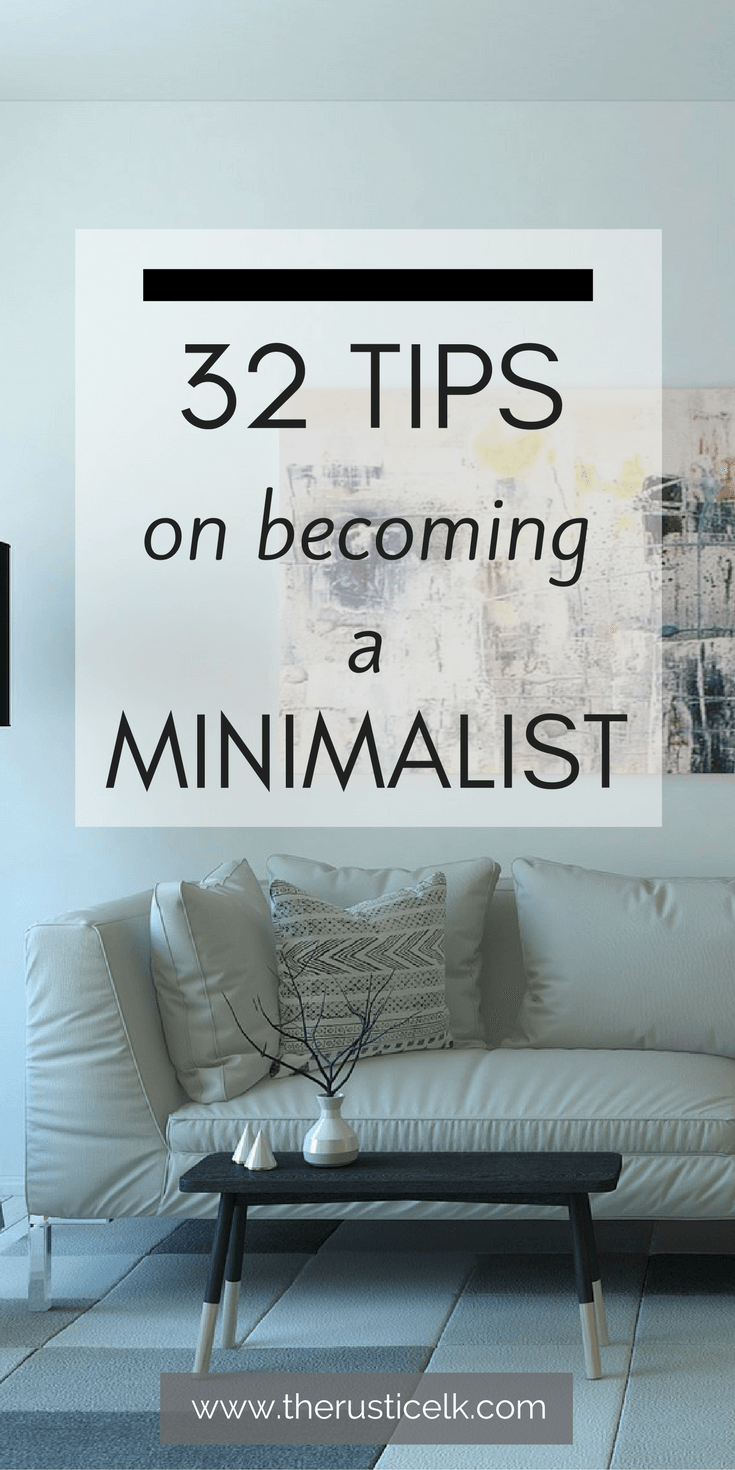32 tips on becoming a minimalist haushalt minimalismus for Minimalismus haushalt