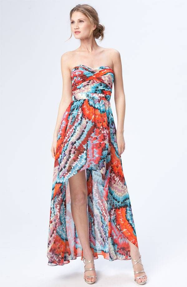 Fashion beach guest wedding dresses