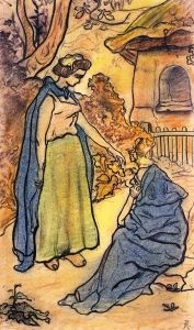The Girl and Death - Paul Ranson - The Athenaeum