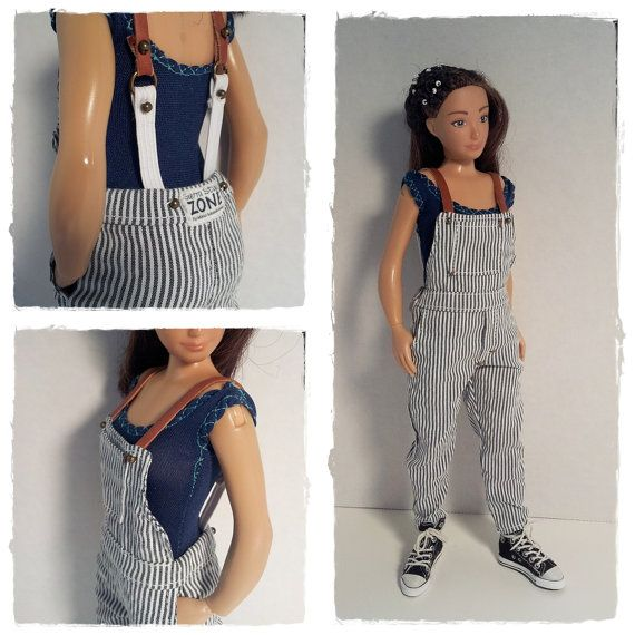 cdb39bffb Reserved For Nonnae   Lammily Doll Outfit   Overall   Lammily ...