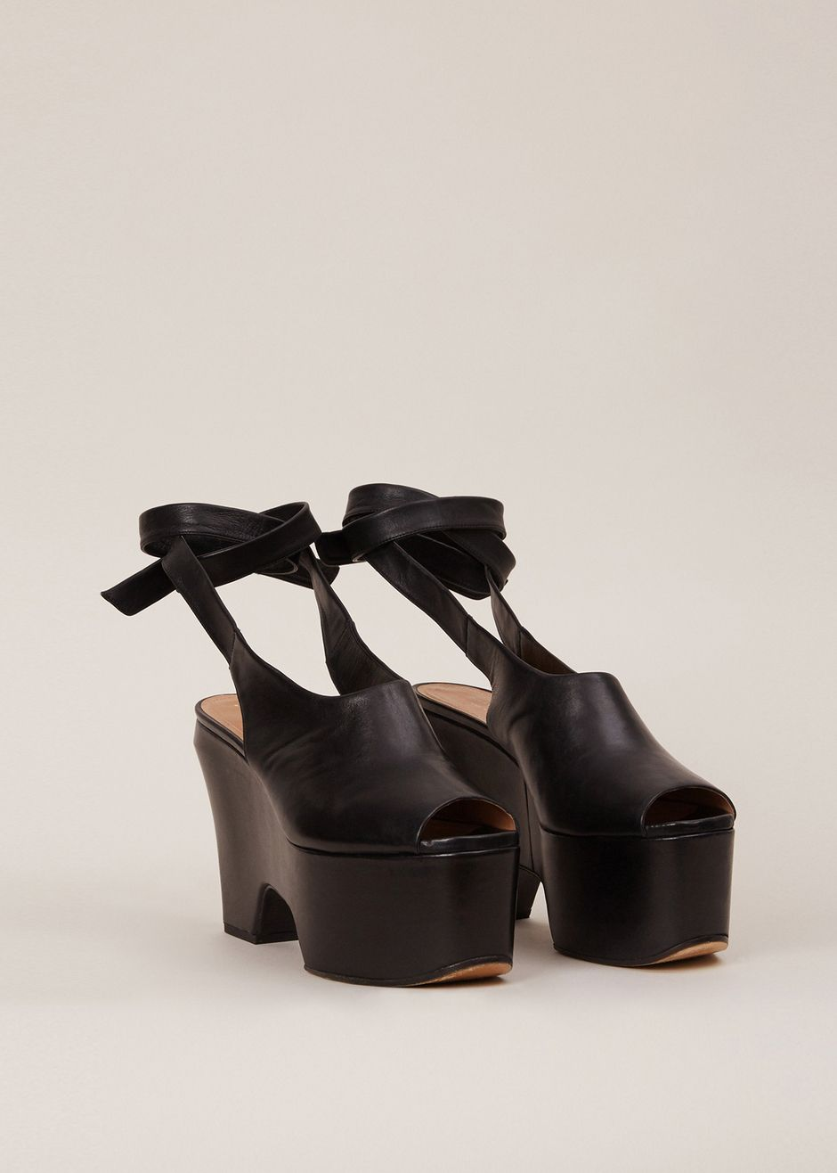 outlet store cheap online Dries Van Noten Peep-Toe Slingback Pumps buy cheap purchase clearance outlet store visit new online hPTmHC
