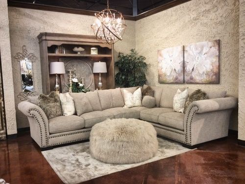 Fall In Love With The 8500 Antique Tara Sectional By John Michael Designs  At Furniture City Proudly Serving Fresno, CA And Surrounding Areas!