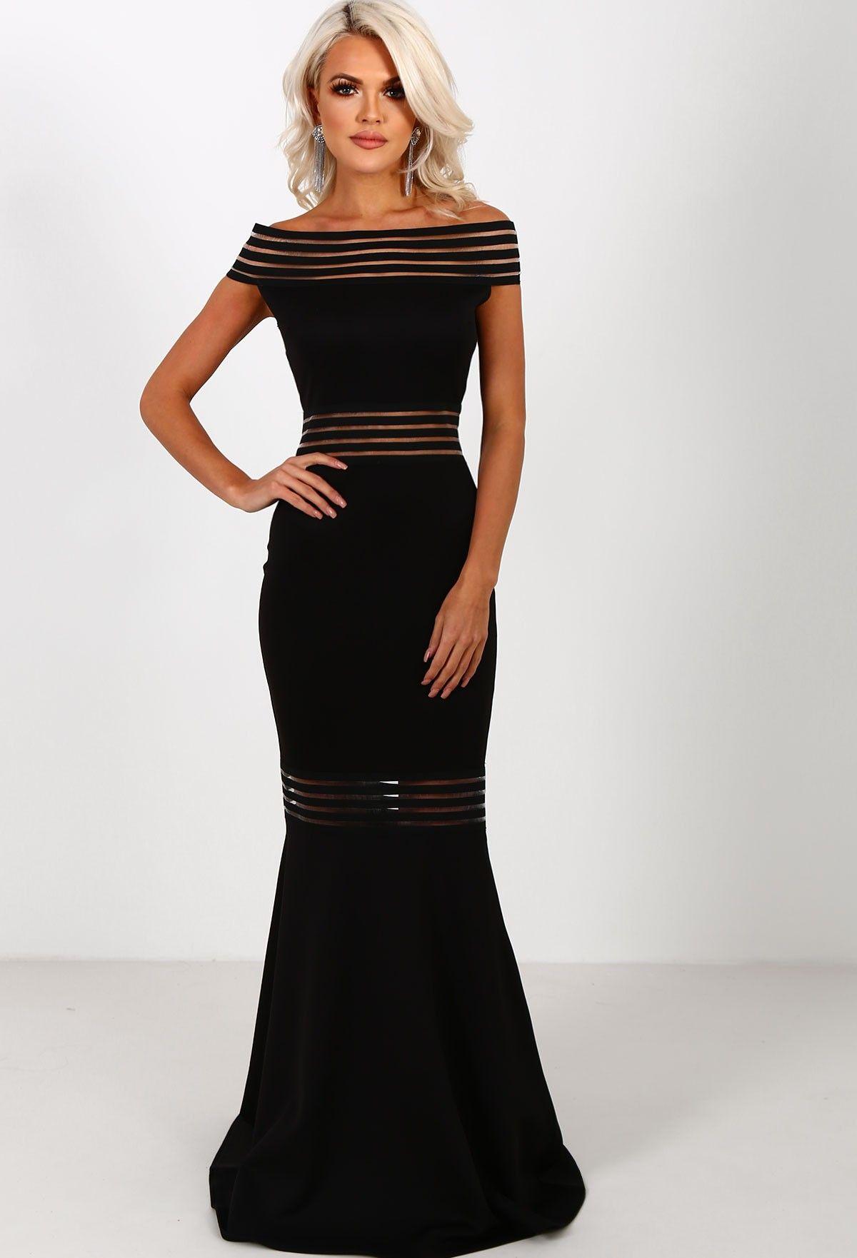 22d952d523b Celeb Boutique Black Fishtail Dress - Gomes Weine AG