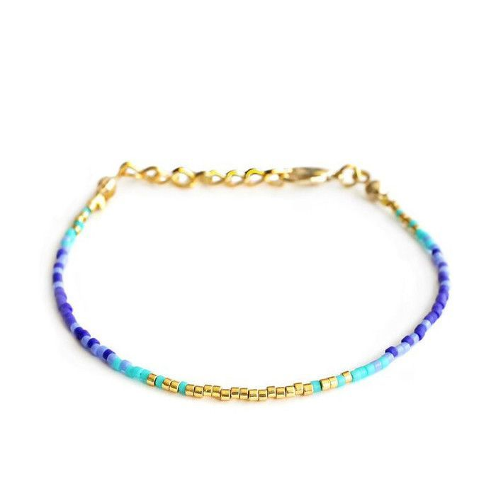 Blue & Gold Minik Bracelet