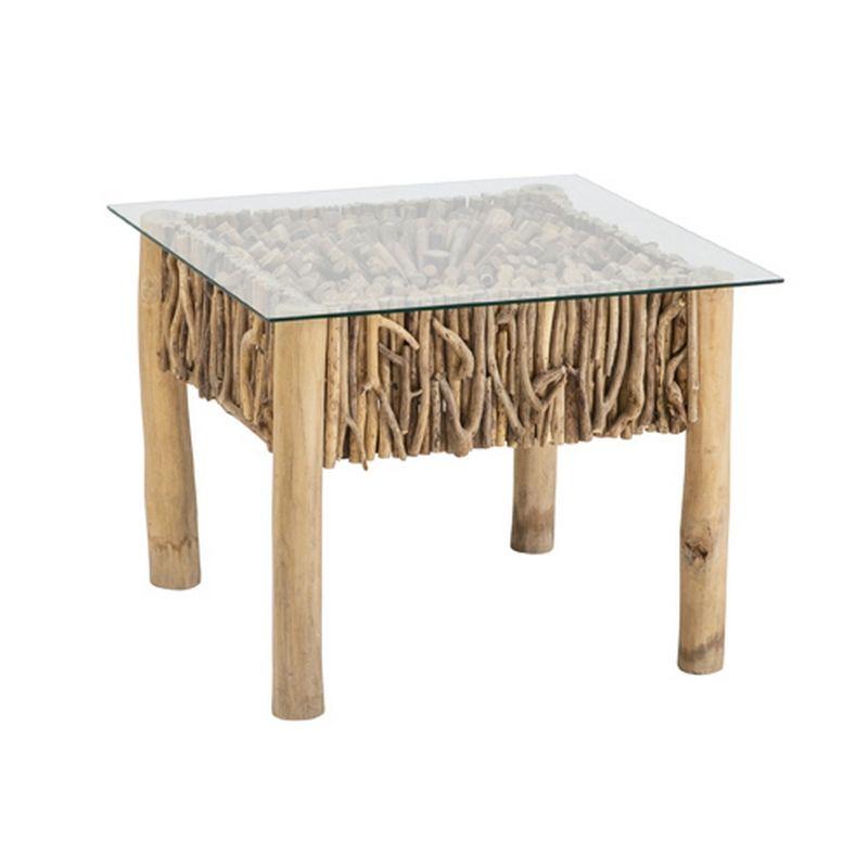 De Plus En Plus Tendance Le Mobilier En Bois Flotte Fait Son Entree Dans Nos Maisons Ecologiques Un Design Nature Pour Une Mobilier En Bois Table Basse Table