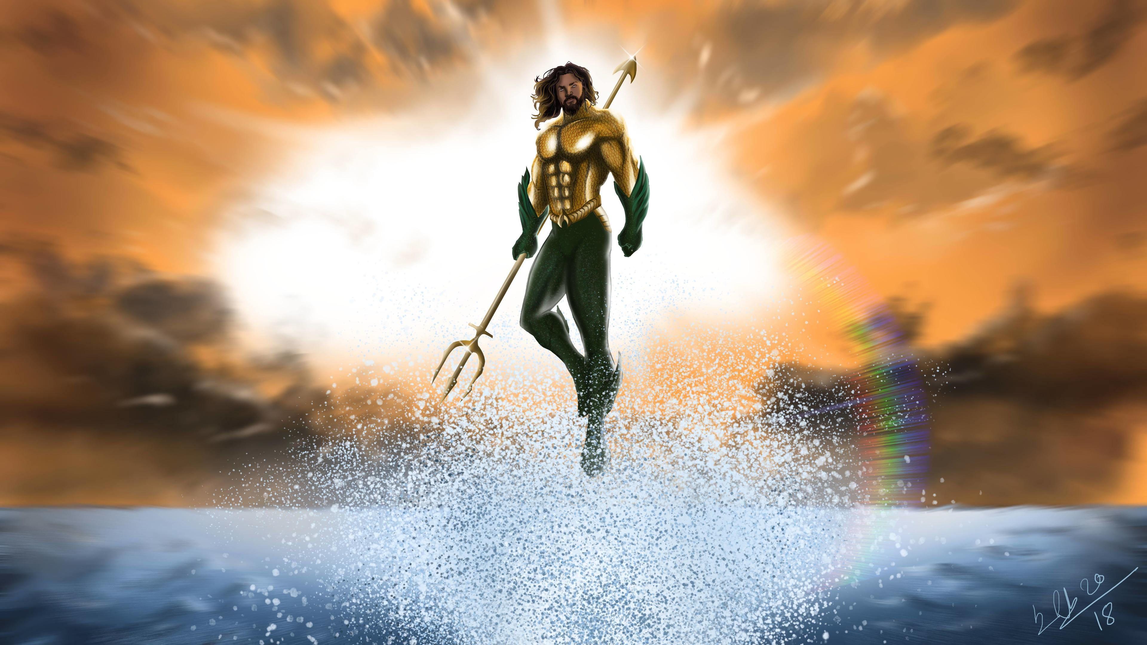 Aquaman Wallpaper Hd 4k