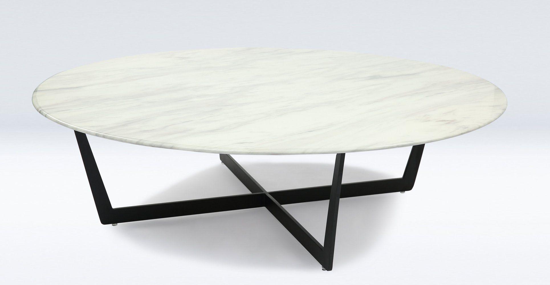 Table Basse Ronde Plateau Marbre Ateliercorduantfr Maison