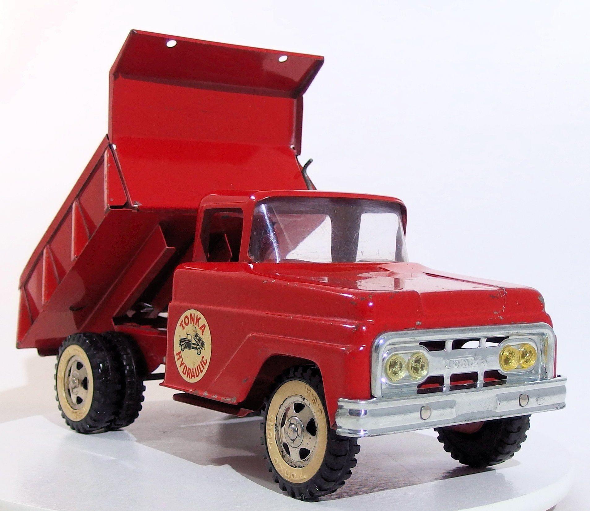 Vintage Tonka 1962 Hydraulic Dump Truck | TONKA TRUCKS and TRACTORS