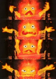 howl's moving castle wallpaper calcifer - Google Search