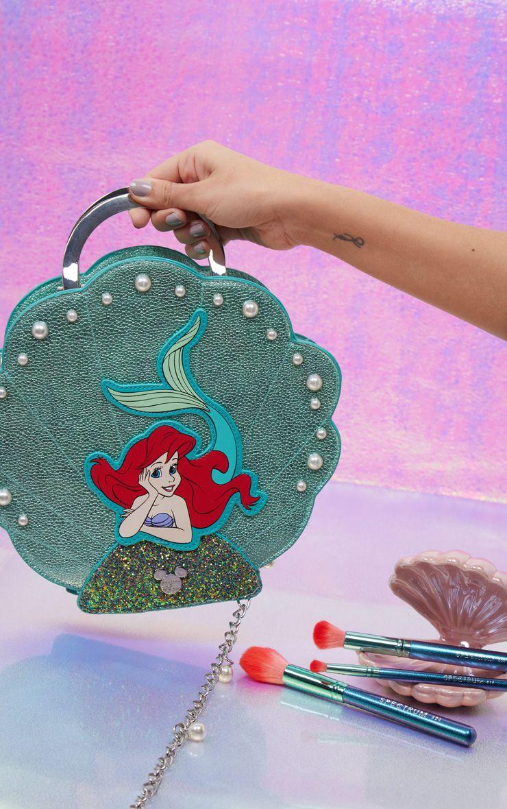 Spectrum X Disney Ariel Shell 10 Piece Brush Set Pearl
