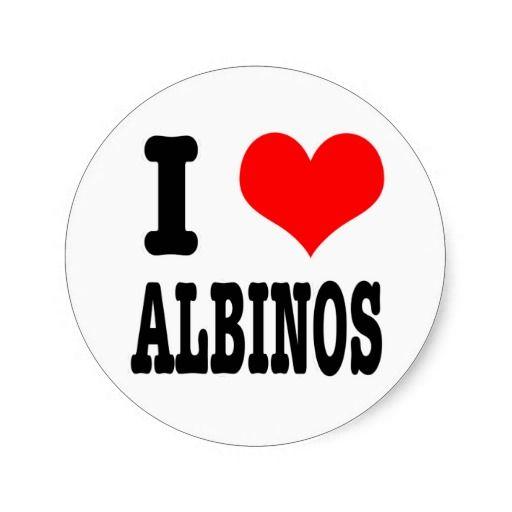 I <3 albinos!