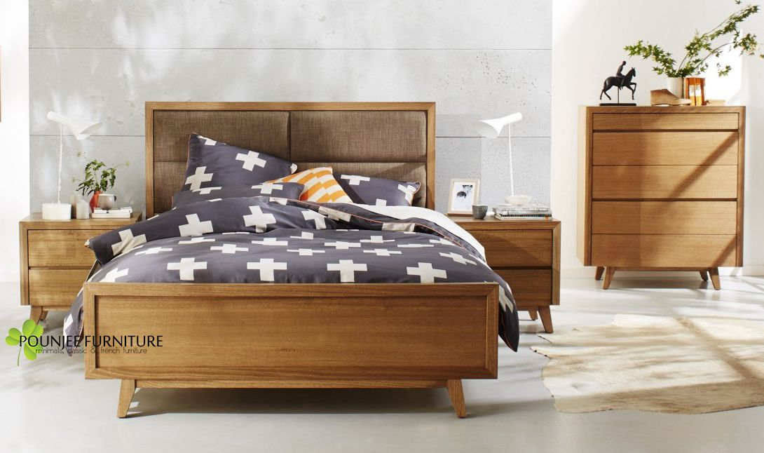 Retro Bedroom Furniture Forty Winks Set Tempat Tidur Minimalis Retro Modern Pounjee Furniture Www