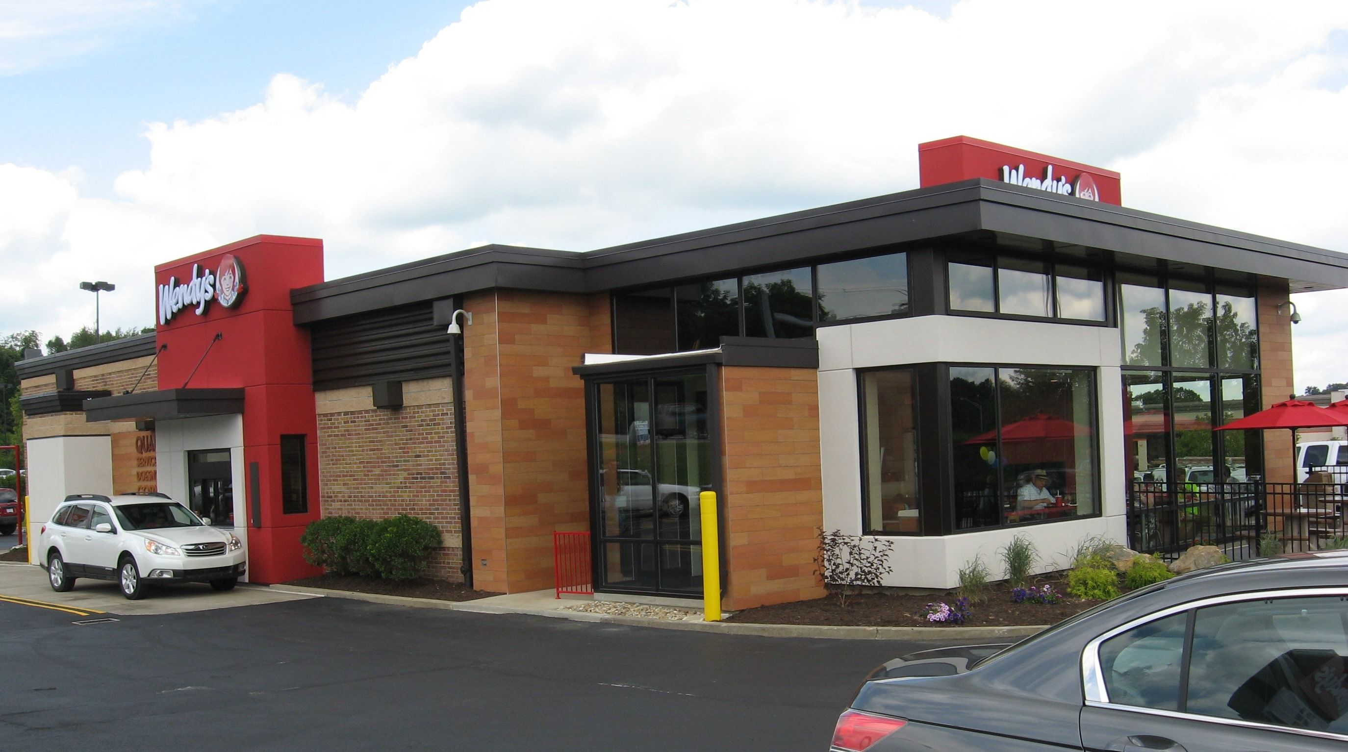 new fast food restaurant exterior google search - Fast Food Store Design