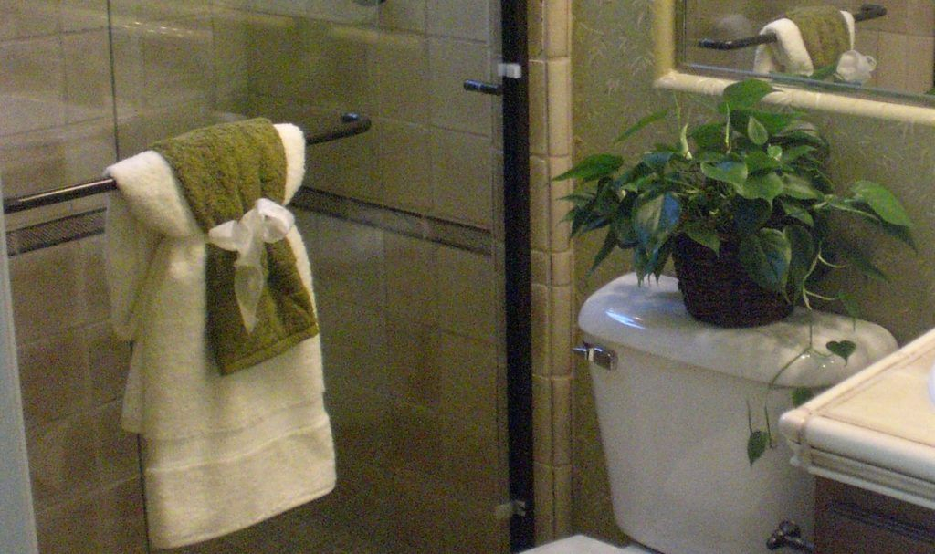 Creative Ways To Hang Towels In Bathroom Model Apartment Pinterest And
