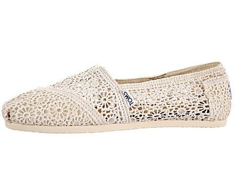 Toms Women's Crochet Classics Natural Morocco Casual Shoe. Shopswell |  Shopping smarter together.™