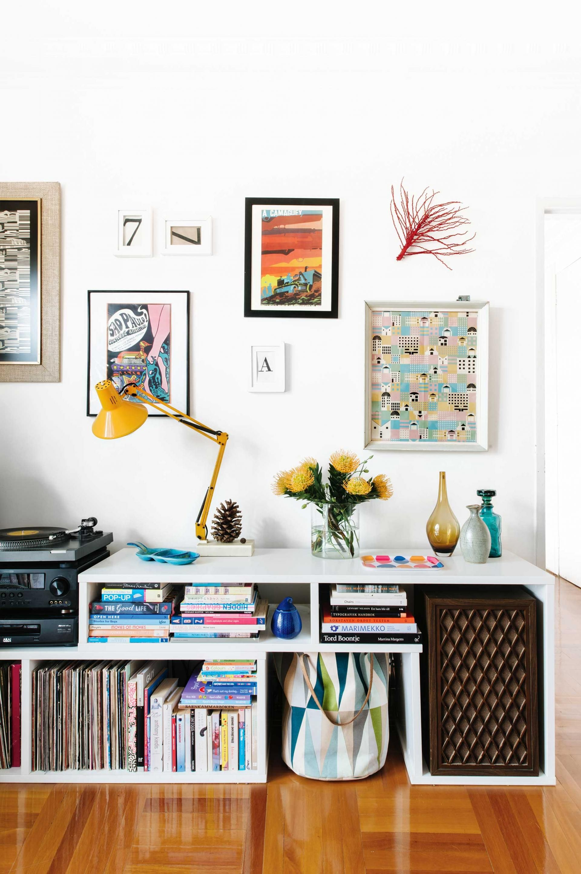 How To Decorate Your Home With Personality: Smart Storage Features In This Personality-packed Apartment From The December 2015 Issue Of