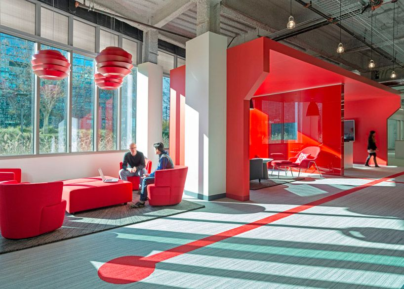 Design Blitz Finishes Comcast Office In Red Innovation Centre