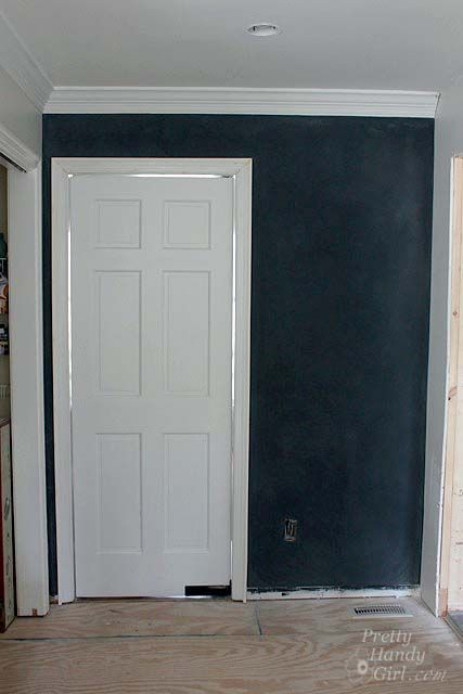 Gray Youth Group Rooms: How To Make A SMOOTH Chalkboard Wall {For Imperfect Walls