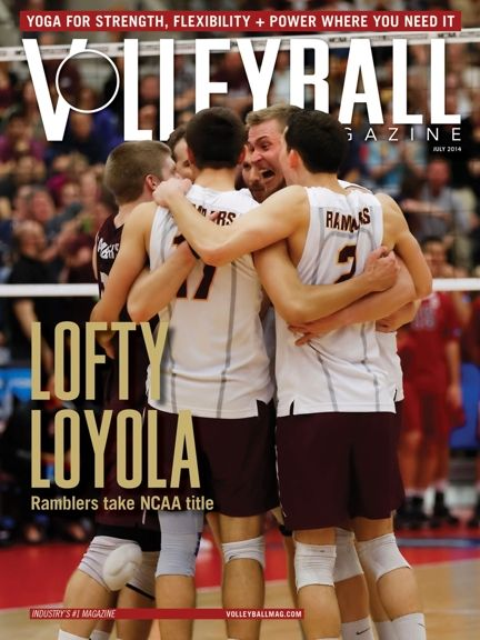 July 2014 Volleyball Magazine Mens Volleyball Volleyball Team Volleyball