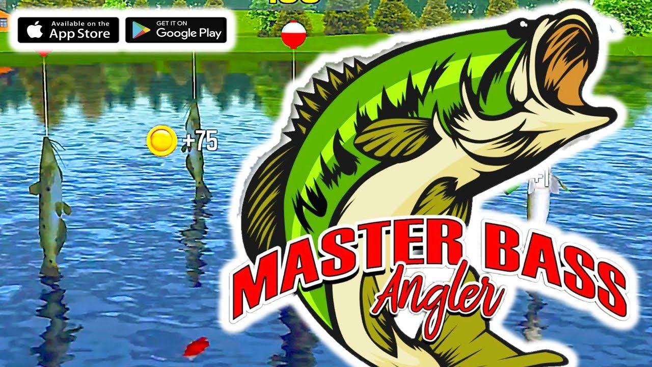 Catching Monsters in Master Bass Angler Free Fishing