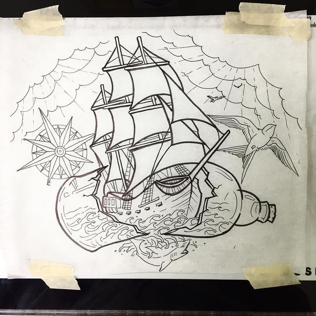 Got this custom clipper ship/nautical piece up for grabs ...