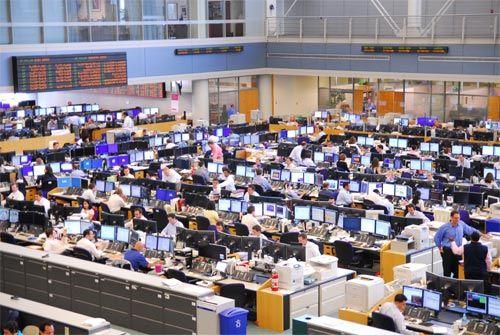 Ubs Trading Floor Finance Histoire