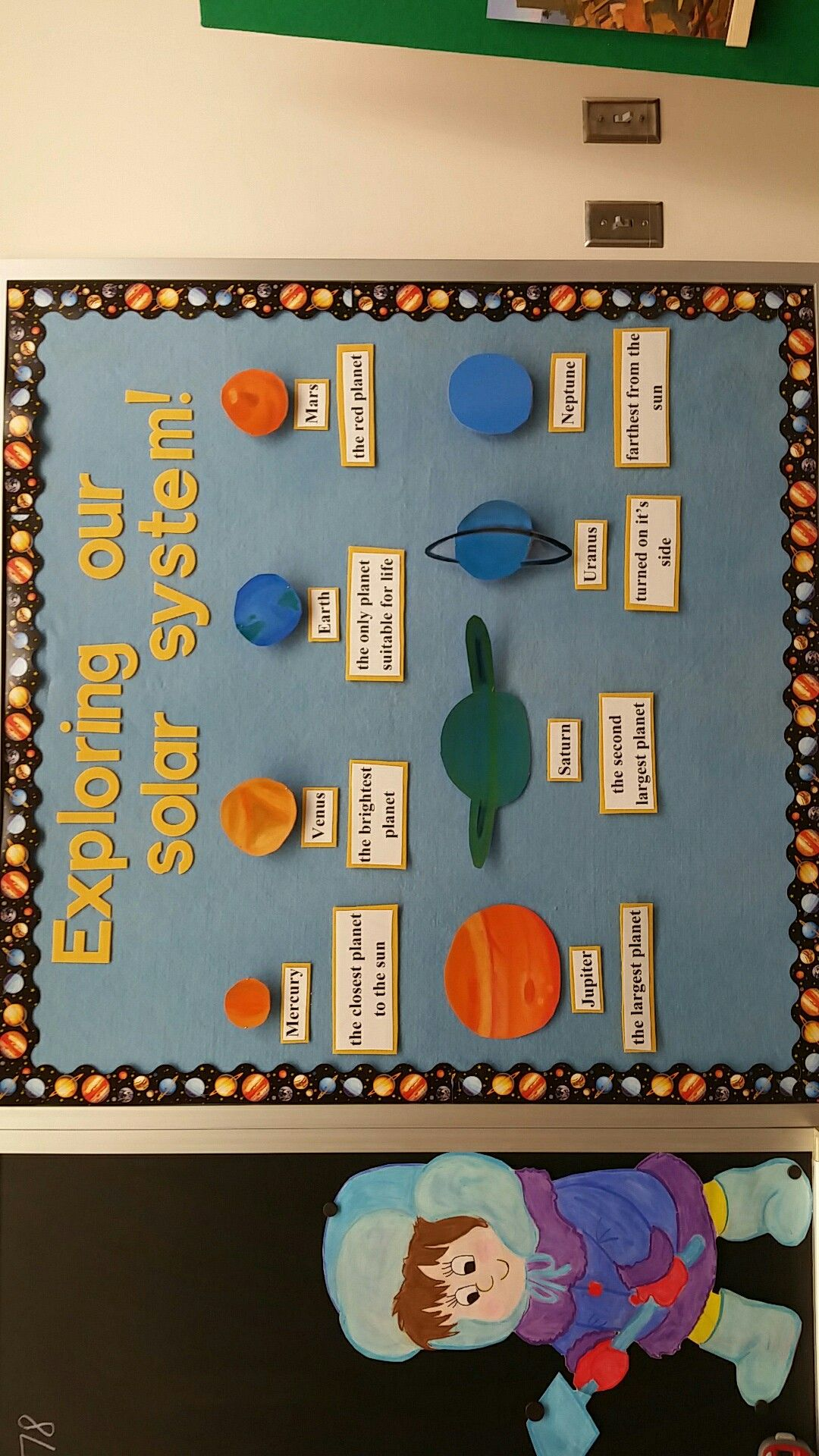 5th Grade Solar System Bulletin Board With Images