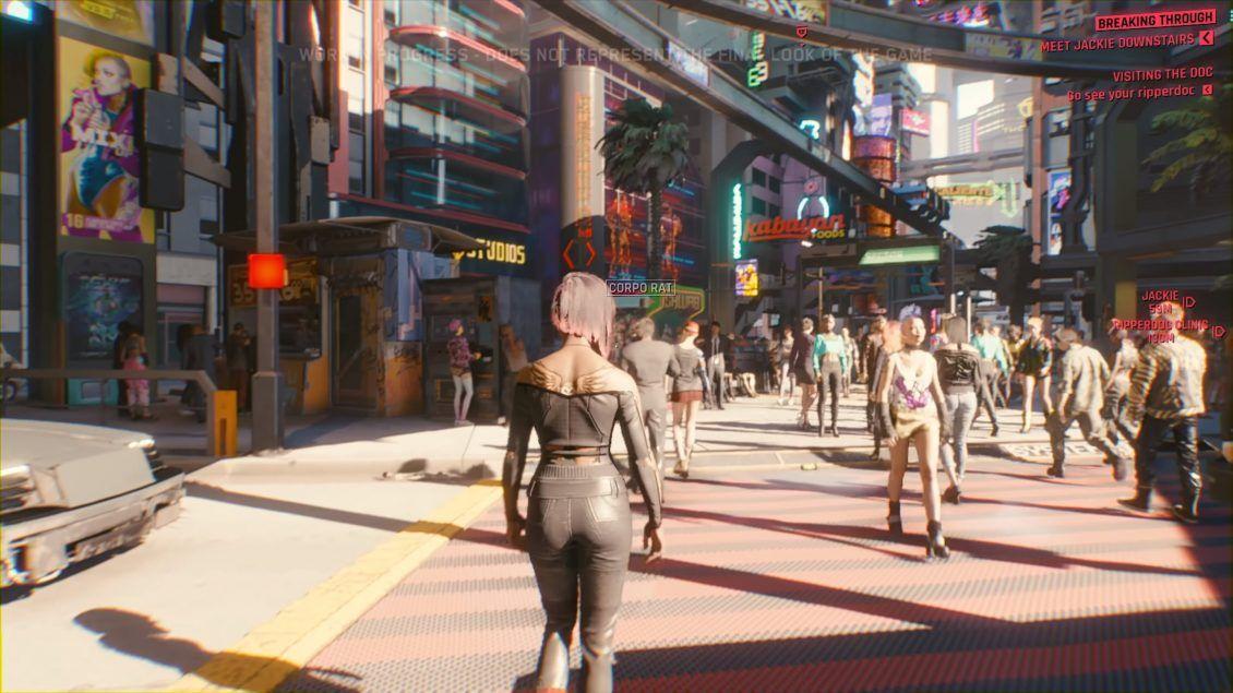 CYBERPUNK 2077 Gameplay Demo InDepth Analysis (with