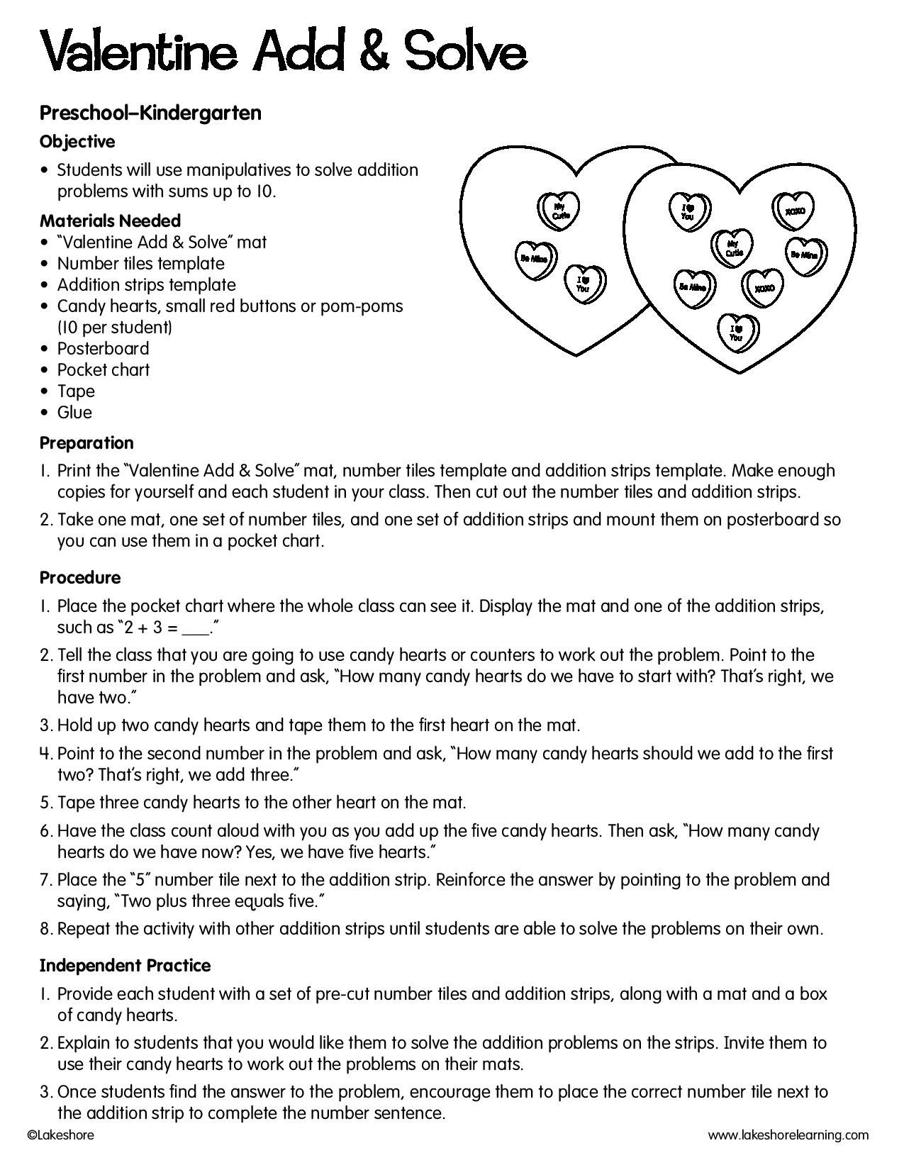 This Hands On Teacher Written Lesson Plan Includes Free