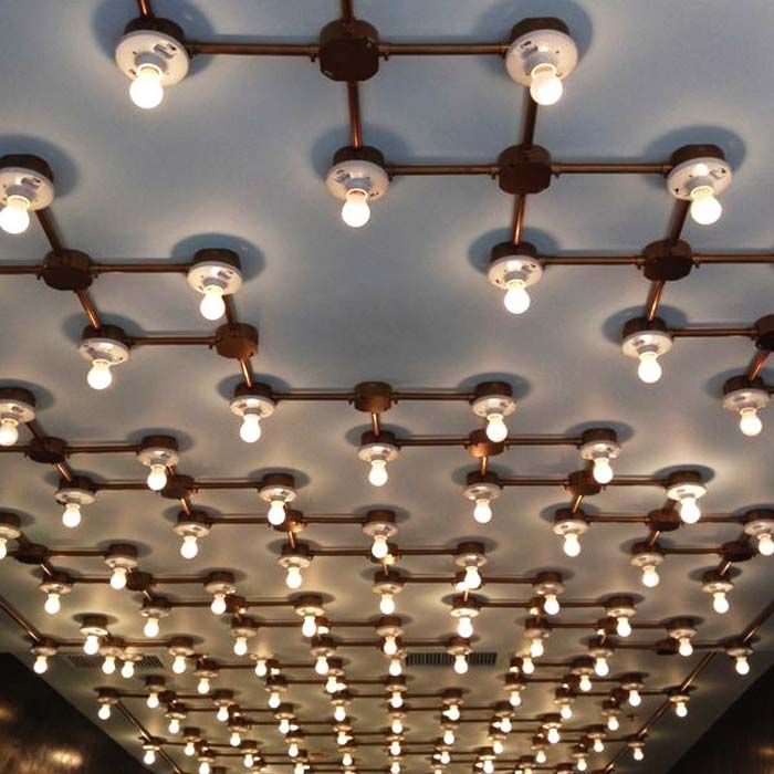 Exposed Pipes Minimalists Will Love Design District Aydinlatmalar Lamba Avizeler