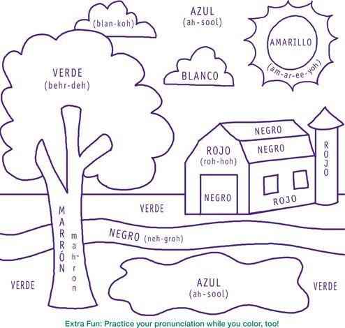 Printable+Spanish+Worksheets+for+Kids | Printable+Spanish+Worksheets ...