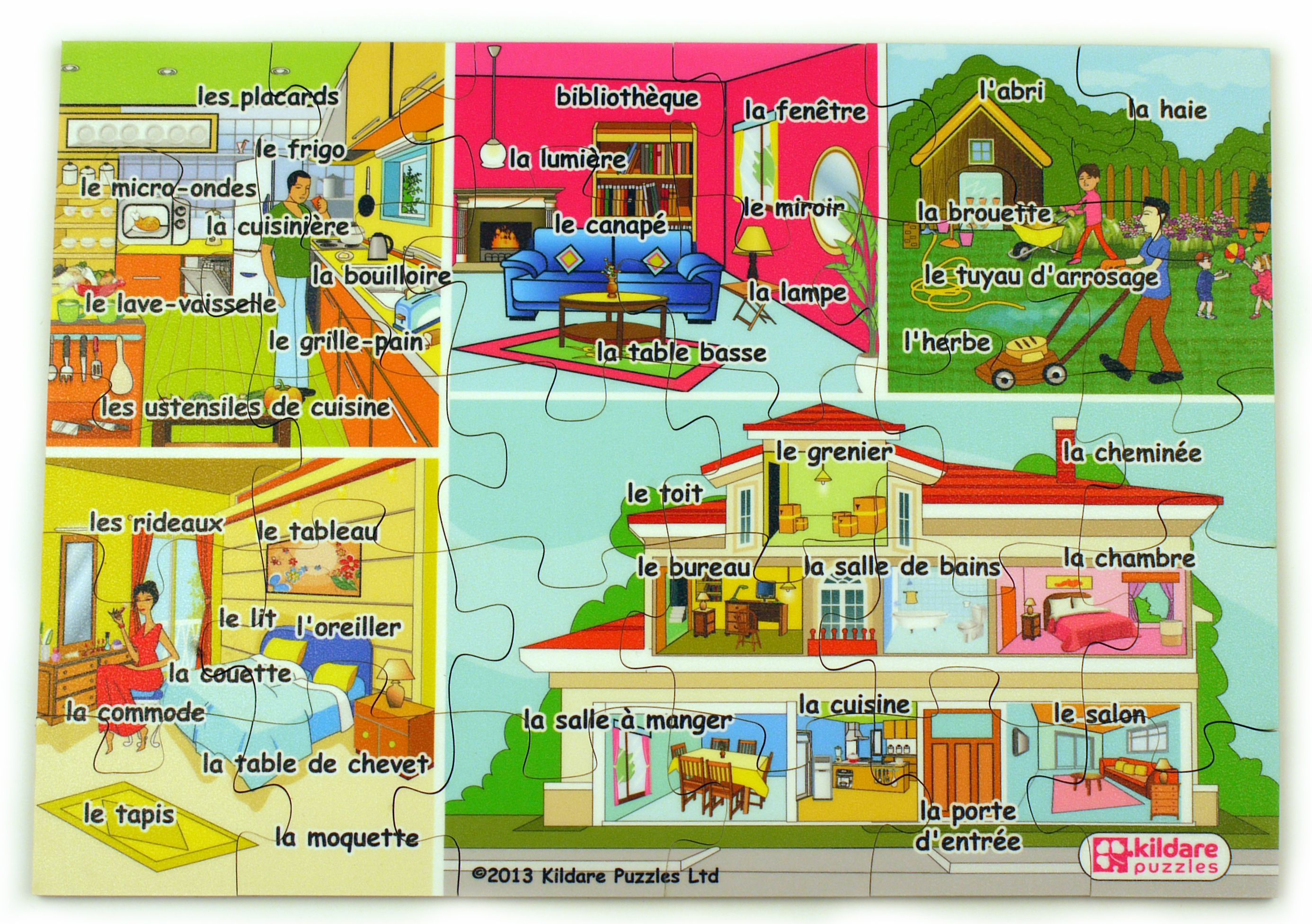 A Lovely Wooden Jigsaw Puzzle That Is Best Suited To Older