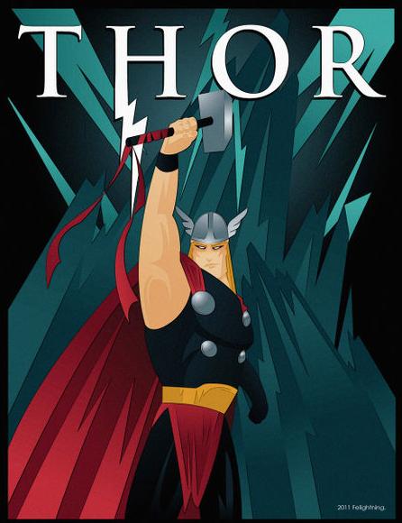 Thor Poster Thor Comic Art Avengers Art Thor Art