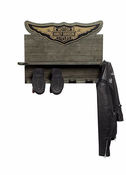 Sensational Harley Davidson Wooden Boot Coat Rack Harley Girl Harley Uwap Interior Chair Design Uwaporg