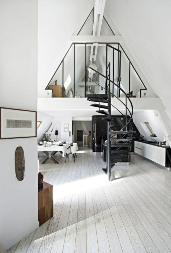 Photo of Furnish a penthouse – benefit from the color white in all respects