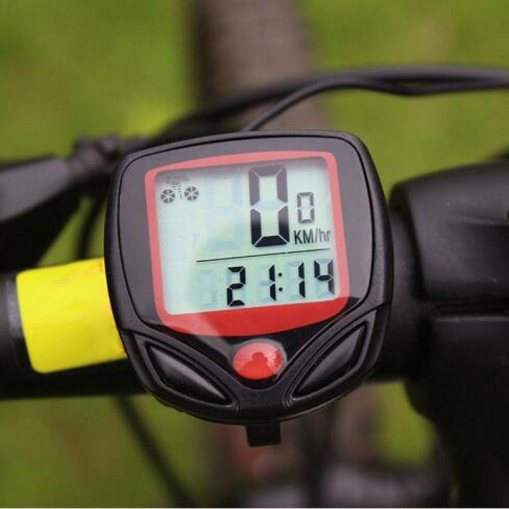 Smart Bicycle Odometer Speedometer With Waterproof Lcd Digital