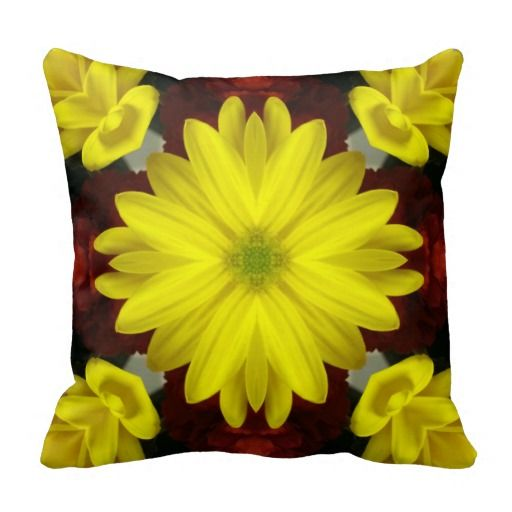 Bright Yellow Flower Double-Sided
