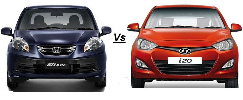Honda Amaze Vs Hyundai I20 Judgement Of The Best Expert Review