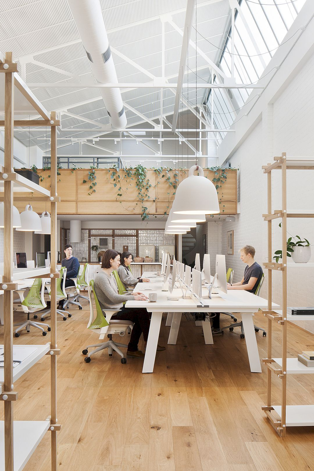 Office Interior: A Contemporary, Modern Workspace Of The