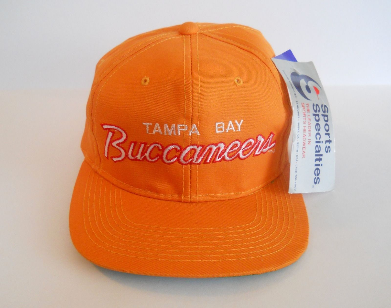 Sports Specialties Tampa Bay Buccaneers Snapback Nfl Creamsicle New With Tags Ebay Fitted Hats Tampa Bay Tampa Bay Buccaneers