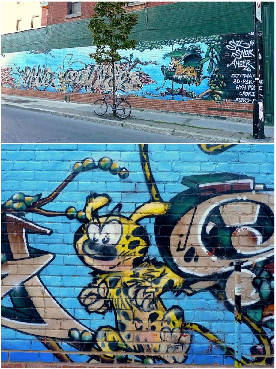 Marsupilami #StreetArt #Montreal